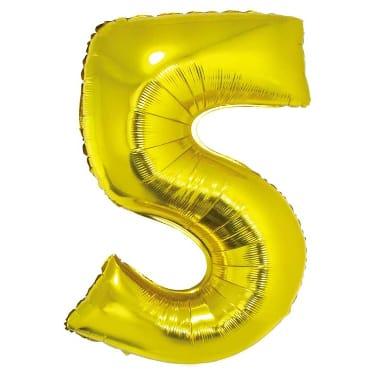 "Folija balons ""5"", Godan"
