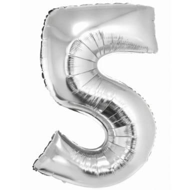 """Folija balons sudraba """"5"""", Godan"""