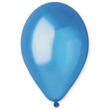 Baloni metāliski zili Gemar, 100 gab.