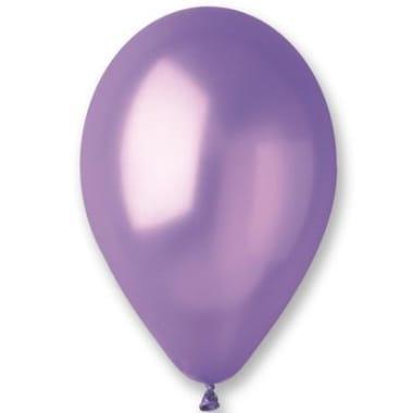 Baloni metāliski violeti Gemar, 100 gab.