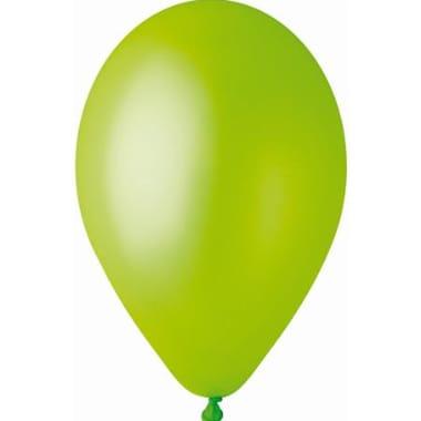 Baloni metāliski zaļi Gemar, 100 gab.