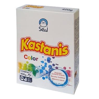 Veļas pulveris Kastanis Color, 400 g