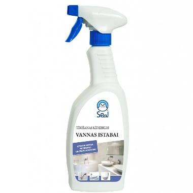 Tīrīšanas līdzeklis vannas istabai Seal, 750 ml