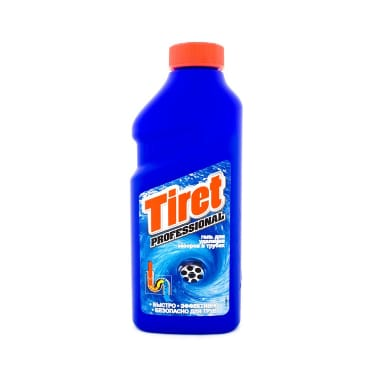 Kanalizācijas cauruļu tīrīšanas līdzeklis Tiret, 500 ml