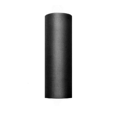 Tills melns PartyDeco, 15 cm