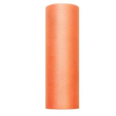 Tills oranžs PartyDeco, 15 cm