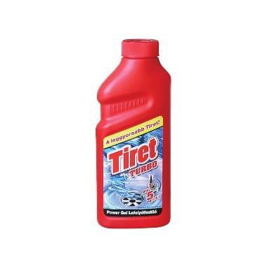 Kanalizācijas cauruļu tīrīšanas līdzeklis Turbo Tiret, 500 ml