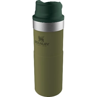 Termokrūze olīvu Classic Trigger Stanley, 0,47 L