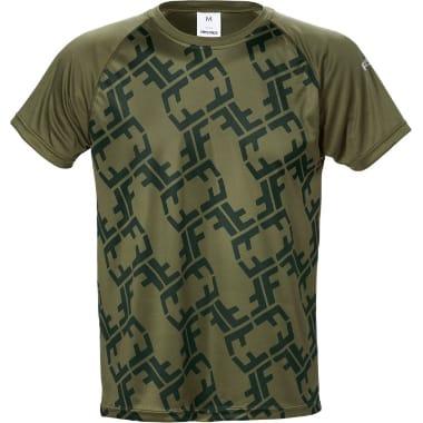 T-krekls Army green 7456, Fristads