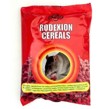 Žurku un peļu inde Rodexion Cereals, graudi, 300 g