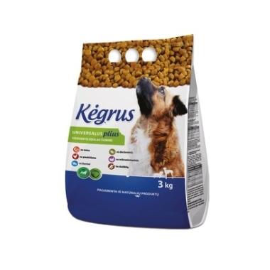 Suņu barība Kegrus Universalus Plius, 3 kg