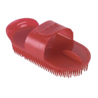 Plastmasas skrāpis-birste sarkana, Kerbl