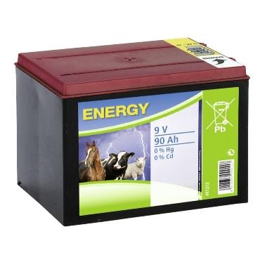 Sausā cinka baterija, 9V 90Ah