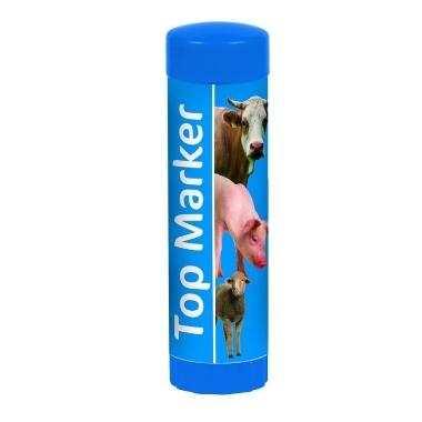 Marķieris zils TopMarker, 60 ml