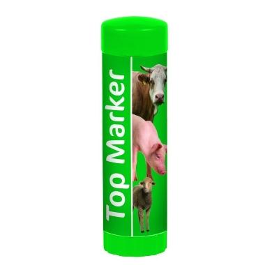 Marķieris zaļš TopMarker, 60 ml