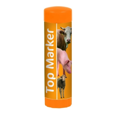 Marķieris oranžs TopMarker, 60 ml