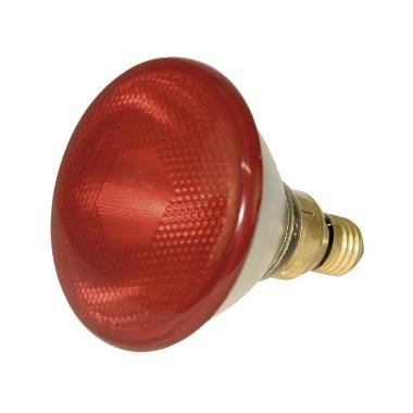 Infrasarkanā lampa PAR38 100W sarkana, Kerbl