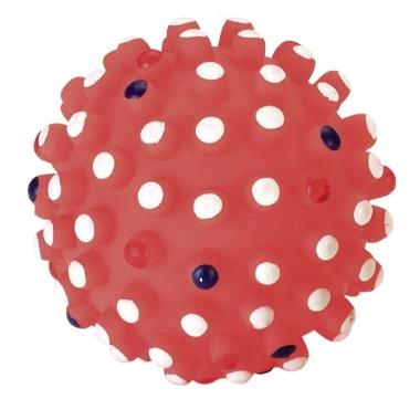 Rotaļlieta suņiem bumba sarkana, Kerbl