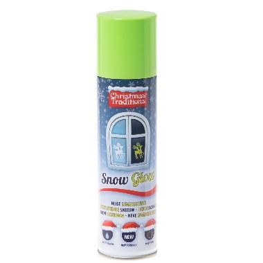 Sniegs luminiscējošs aerosols, 150 ml