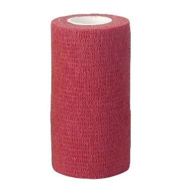 Elastīgā saite sarkana,10 cm
