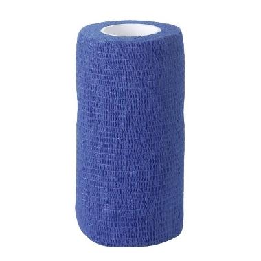 Elastīgā saite zila,10 cm