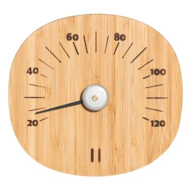 Saunas termometrs bambusa Rento, Ø 15 cm