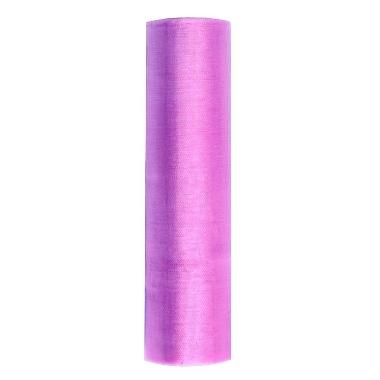 Organza audums violets PartyDeco, 16 cm