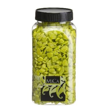 Dekoratīvi akmentiņi zaļi Mica, 1 kg