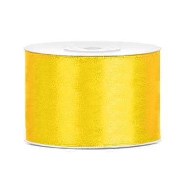 Atlasa lenta dzeltena PartyDeco, 50mmx25m