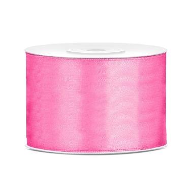 Atlasa lenta rozā PartyDeco, 50mmx25m