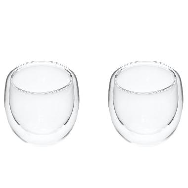 Glāzes Maku ar dubulto stiklu, 200 ml, 2 gab.