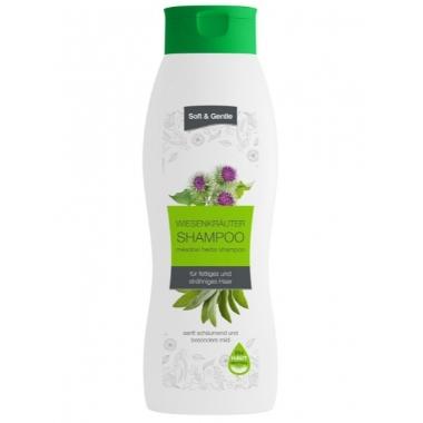 Šampūns ar pļavas zāļu ekstraktu, 1 L