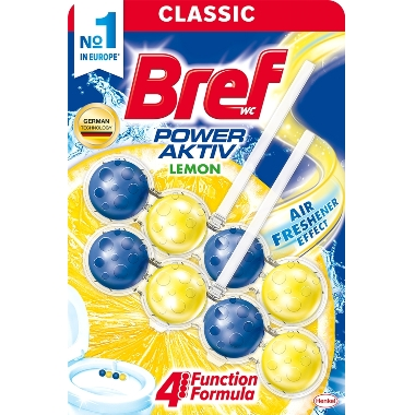 Tualetes bloki Bref Lemon, 2 gab.