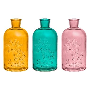 Stikla pudele Summer, 4living, 1 gab.