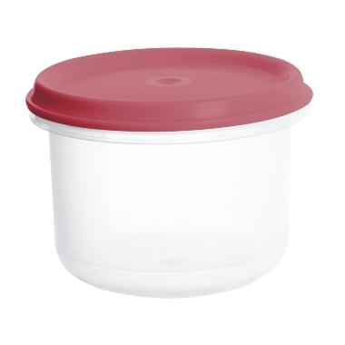 Uzglabāšanas trauks sarkans Margerit, Plast team, 0,25 L