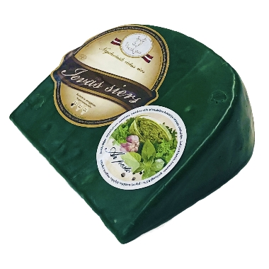 Ievas siers vaskā ar pesto, 250 g