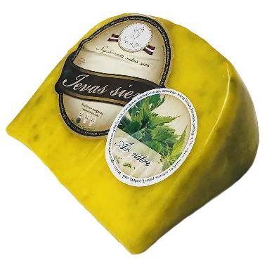 Ievas siers vaskā ar nātri, 250 g