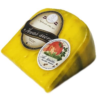 Ievas siers vaskā ar tomātu, baziliku, timiānu, 250 g