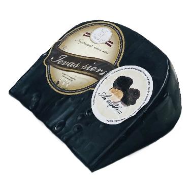 Ievas siers vaskā ar trifelēm, 250 g