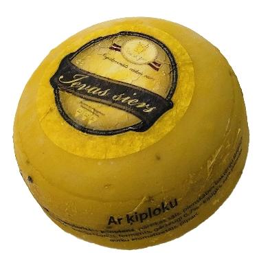 Ievas siers ar ķiploku, 1 kg