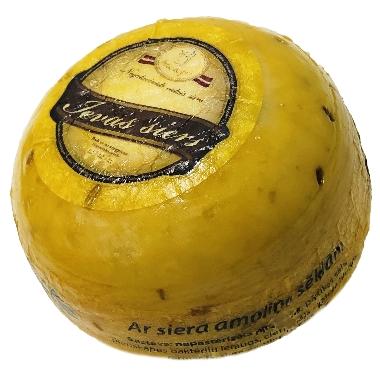 Ievas siers ar siera amoliņa sēklām, 1 kg