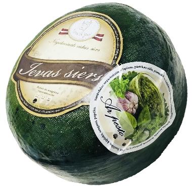 Ievas siers ar pesto, 1 kg