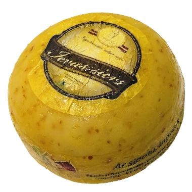 Ievas siers ar sīpolu, ingveru, mārrutku, 1 kg