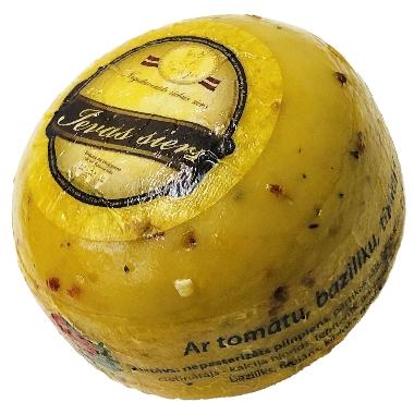 Ievas siers ar tomātu, baziliku, timiānu, 1 kg