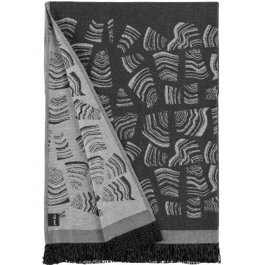 Pirts dvielis Rento, melns, 78x150 cm
