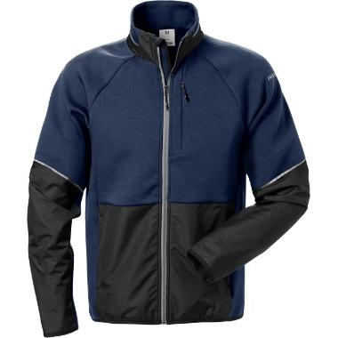 Mikroflīša jaka 7513 zila, Fristads
