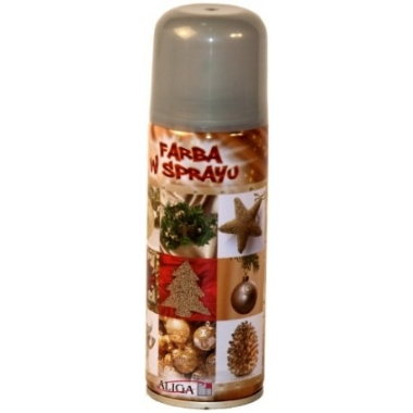Dekoratīvais aerosols, sudraba, 250 ml