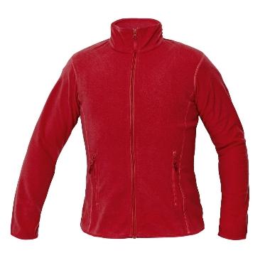 Flīsa jaka sarkana Gomti, Cerva