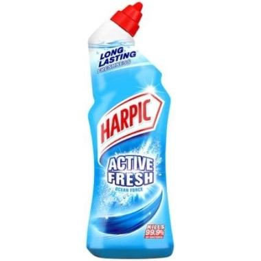 Līdzeklis tualetes poda tīrīšanai Harpic Active Gel Marine, 750 ml