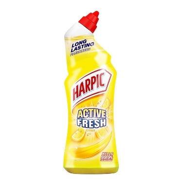 Līdzeklis tualetes poda tīrīšanai Harpic Active Gel Lemon, 750 ml